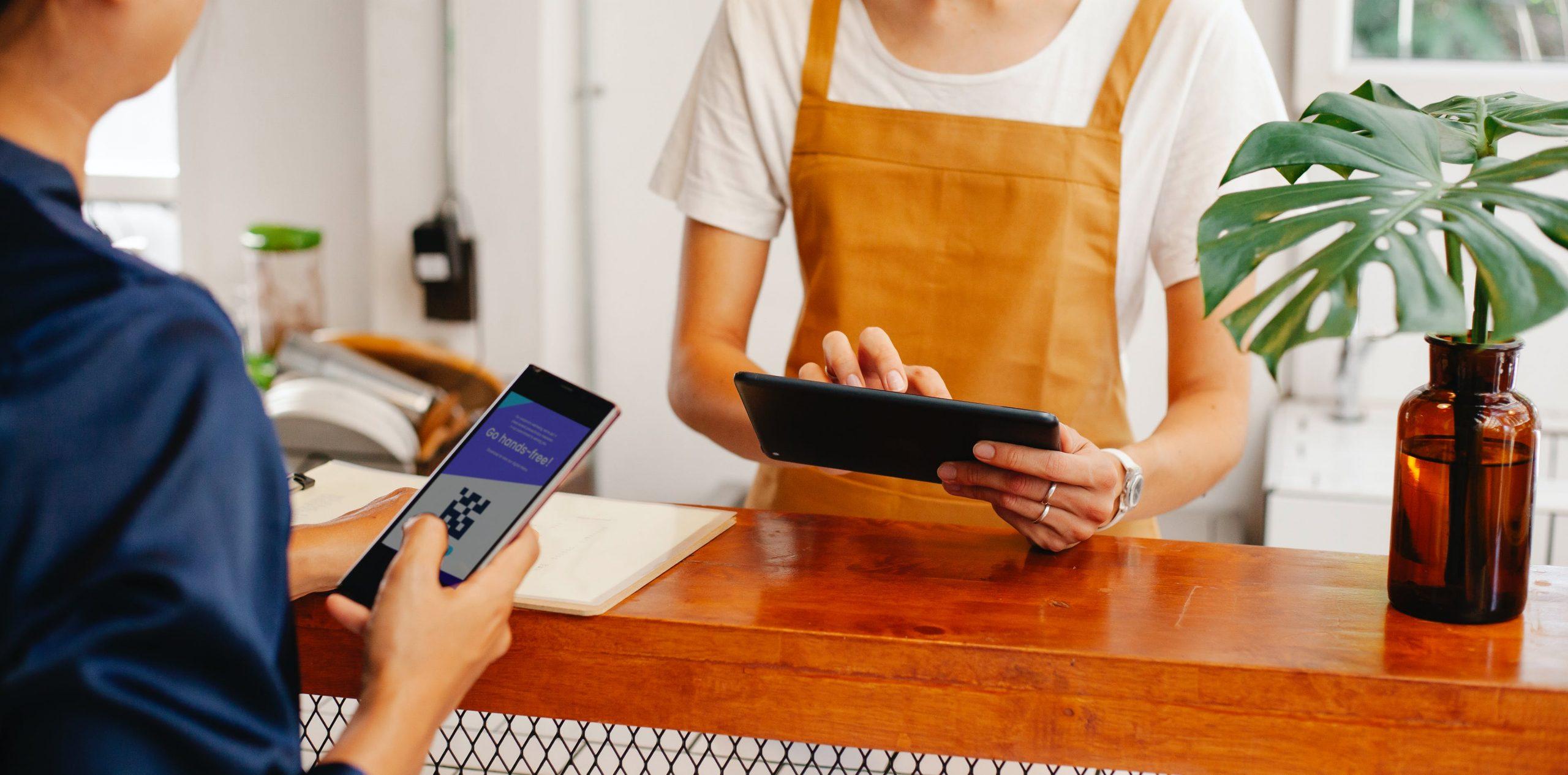 processamento de pagamento digital qr code